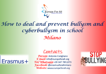 "New session of training course in September 2020  ""Against Bullysm"""